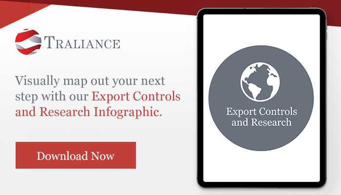 Download Export Controls and Research Infographic